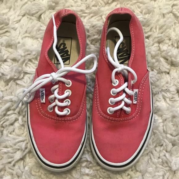 a1e87c4e499 Pink Vans Sneakers size 5.5 women s size 4 men s
